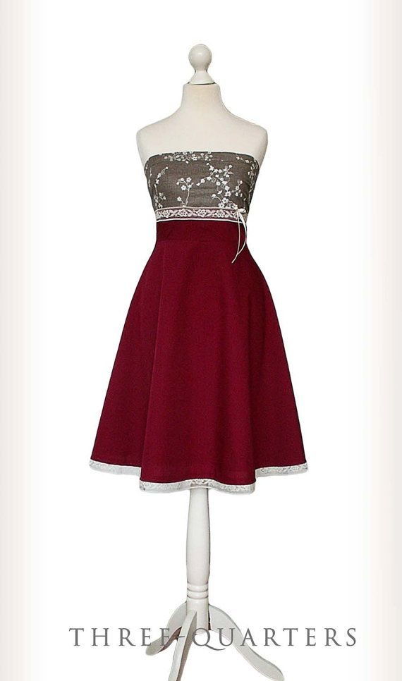 Hey, I found this really awesome Etsy listing at https://www.etsy.com/listing/217142507/maggie-dress-wedding-dress-dark-red