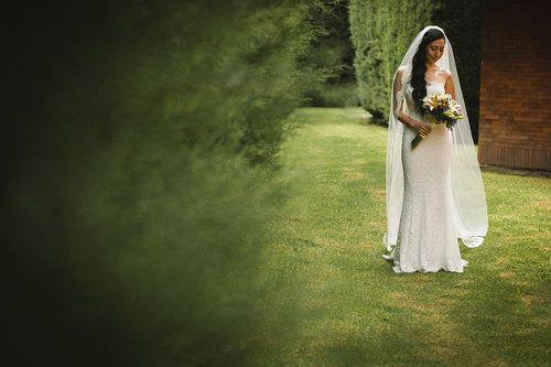Novias - Brides - Wedding photographers- Fotografos de bodas  © Aica Films. J&M