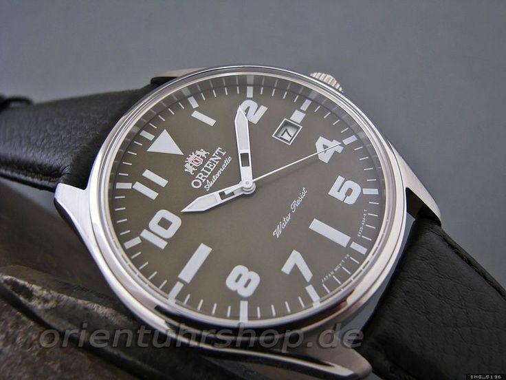 Orient Uhr Classic Automatik Edelstahl Herrenuhr Datum FER2D009F0 in Uhren & Schmuck, Armband- & Taschenuhren, Armbanduhren | eBay!