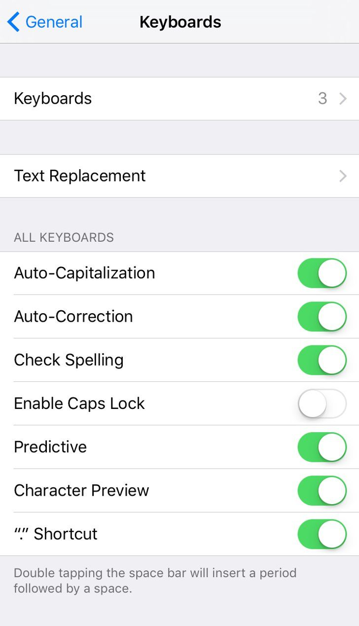 """Pin for Later: You Can Add Another Fun Emoticon Keyboard to Your iPhone — Huzzah! Tap on the arrow next to word """"Keyboards."""""""