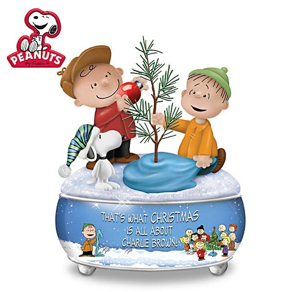 A Charlie Brown Christmas Music Box