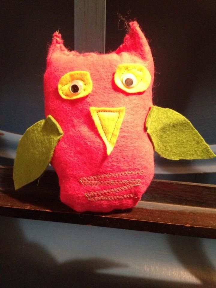 Owl stuffy