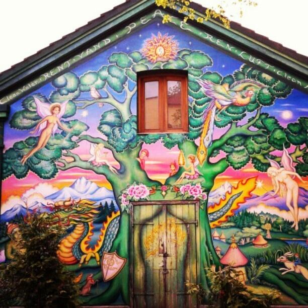 #christiania #copenaghen #murales
