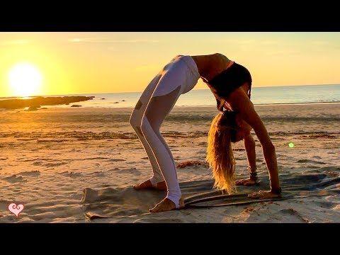 Yoga, Pilates Workout For Your Core ♥ Beautiful Sunset Core Toning By Boho Beautiful | FitNish.com