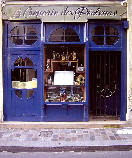 Paris; La Crêperie des Pêcheurs by maralina!, via Flickr