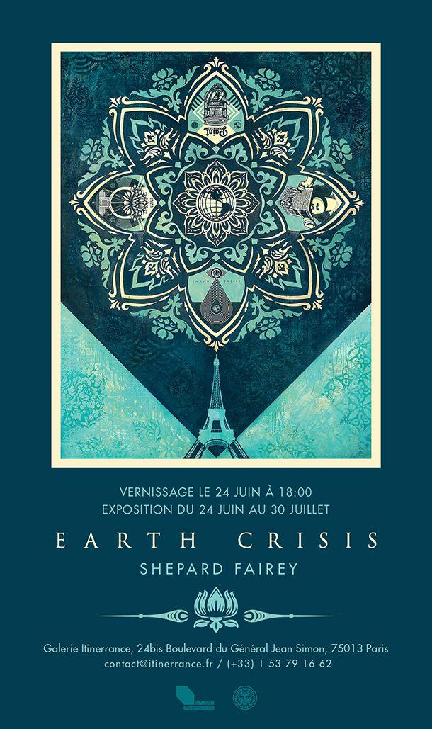 shepard Fairey in Paris for a good cause