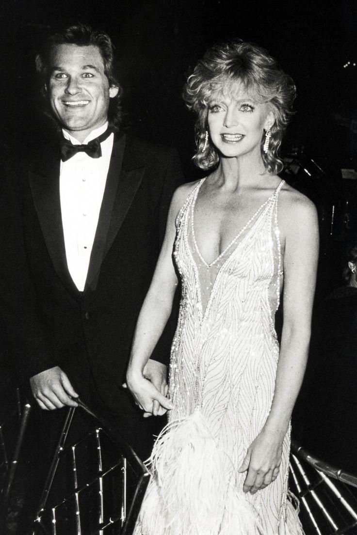 Goldie Hawn and Kurt Russell   - HarpersBAZAAR.com