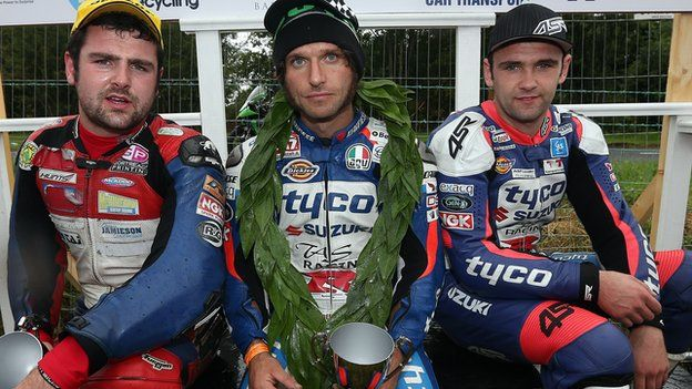 Michael Dunlop, Guy Martin and William Dunlop - the men to watch at the Ulster Grand Prix