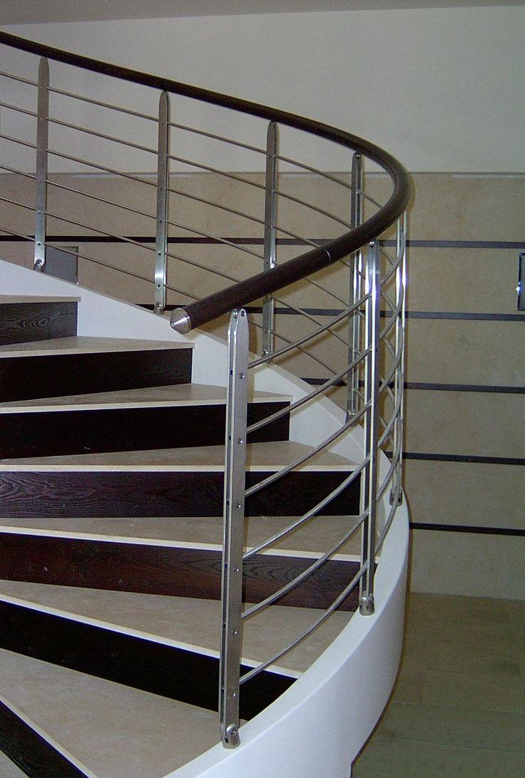 Oltre 25 fantastiche idee su ringhiere delle scale in for Corrimano in legno leroy merlin