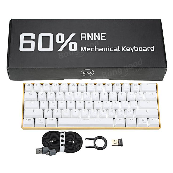 [APP Control] Obins Anne PRO Blue/Red/Brown Switch RGB Wireless Bluetooth Mechanical Gaming Keyboard Sale - Banggood.com
