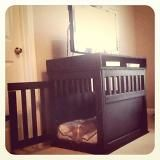 Dog kennel!