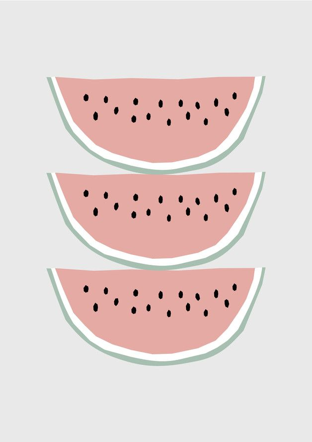 die besten 25 wassermelone illustration ideen auf pinterest wassermelone zeichnung. Black Bedroom Furniture Sets. Home Design Ideas