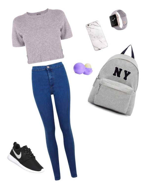 """Untitled #162"" by barbi2003 on Polyvore featuring Monrow, Miss Selfridge, NIKE, Joshua's, Eos, women's clothing, women's fashion, women, female and woman"