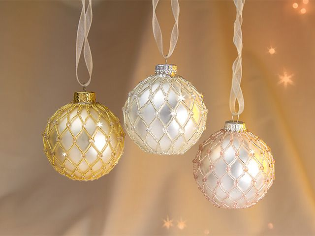 A Few Favorite Things Beaded Ornaments