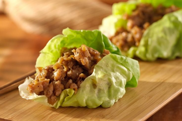 Our Asian chicken wraps are made with crispy chicken, fresh cabbage or lettuce, and the tangy flavor you've come to expect from Asian fare. What's not to love?!