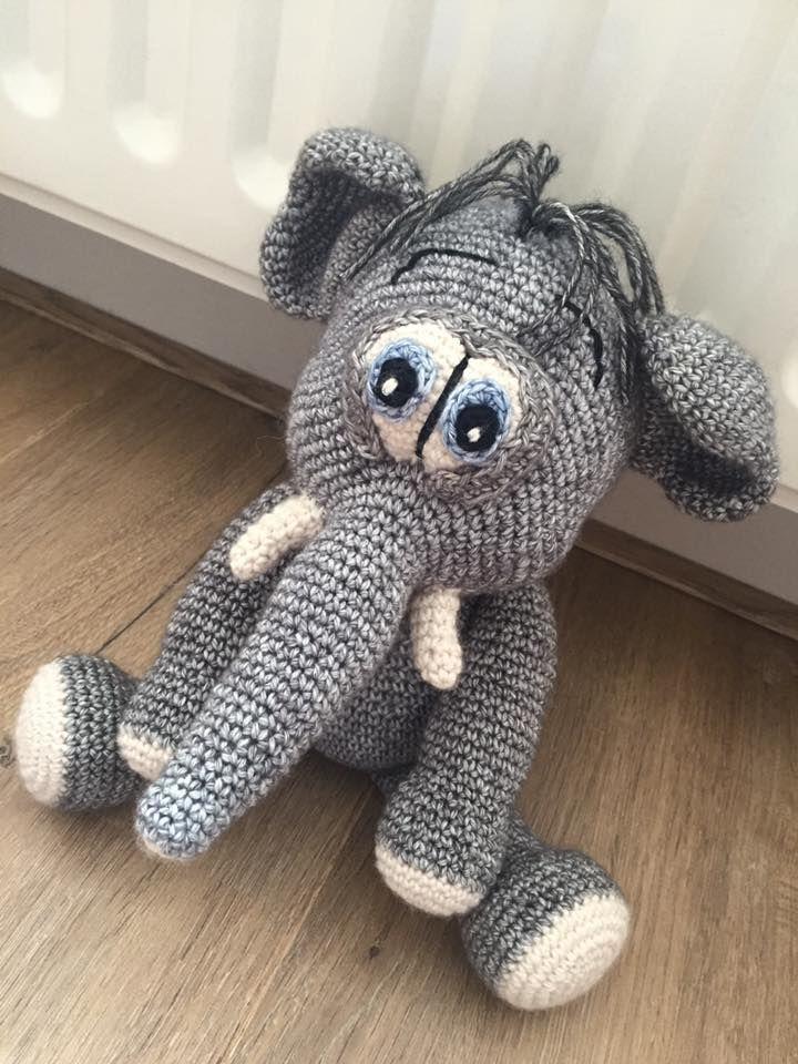 215 best crochet amigurumi by lovely baby gift images on pinterest amigurumi elephant pattern by viktorija dineikiene negle Image collections
