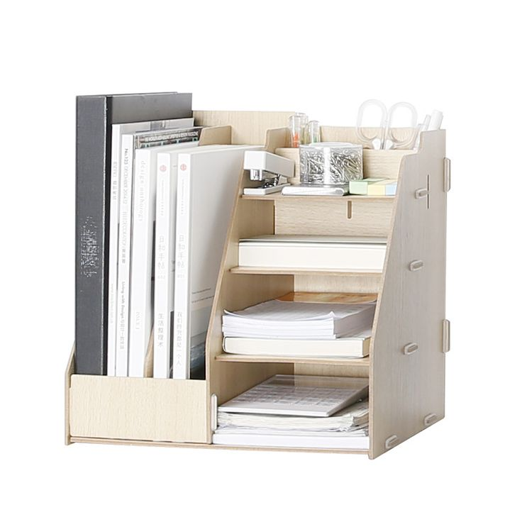 Wooden Multi Use Desk Organizer Office Sundries Storage Box Colorful Modern Style File Racks Eco Natural Wood Stationary Holder-in Storage Boxes & Bins from Home & Garden on Aliexpress.com | Alibaba Group
