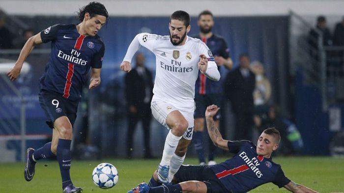 Perang bintang di pertandingan Liga Champion 2015 grup A antara PSG vs Real Madrid