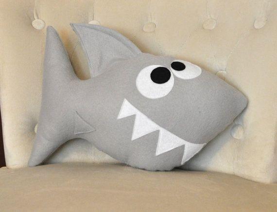 Shark Plush Pillow Chomp The Shard Plush Pillow New By