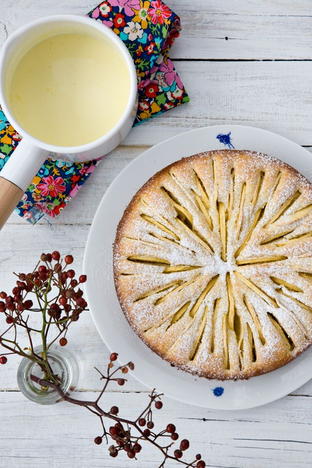 French apple cake from the French Laundry Cookbook | tartine & apron strings