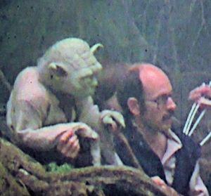 Yoda and Frank Oz.