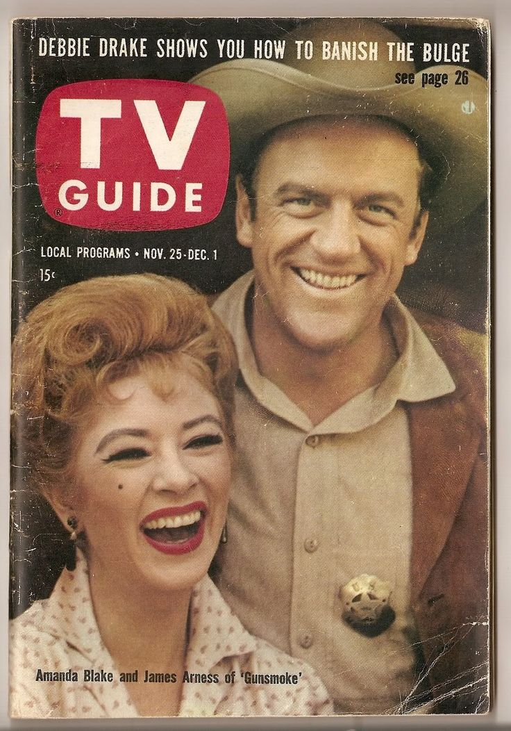 Gunsmoke - the marshal and Miss Kitty - watched this many a night with my grandmother, it was her favorite program