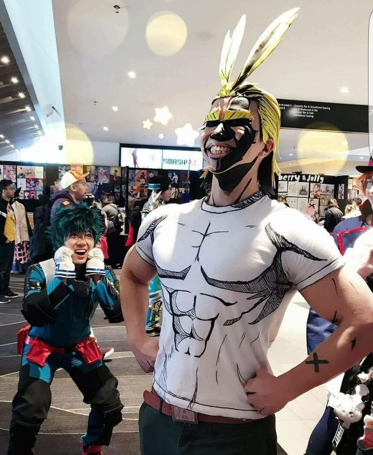 Image result for all might cosplay