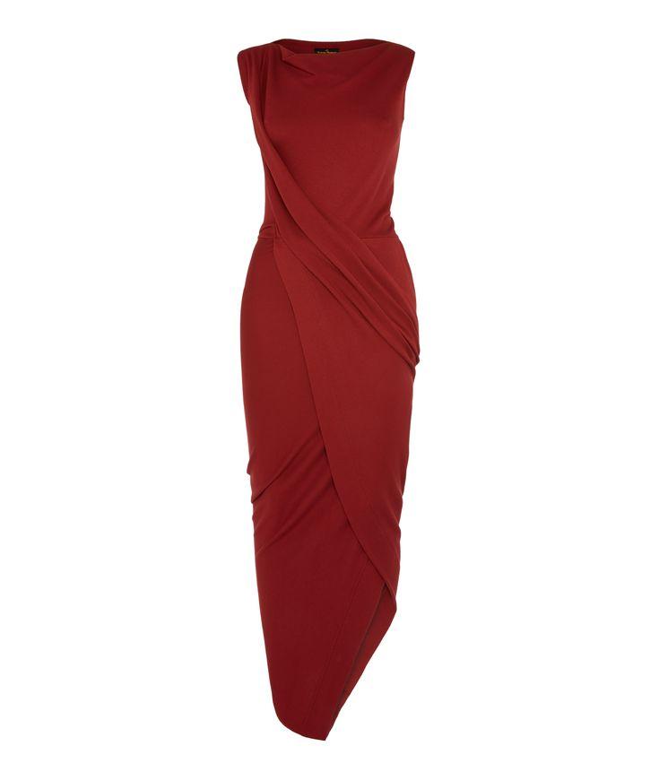 VIVIENNE WESTWOOD Oxblood Vian Dress. #viviennewestwood #cloth #