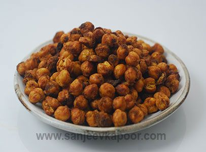 21 best fusion images on pinterest sanjeev kapoor cooking food air fried masala chana recipe boiled chickpeas mixed with chaat masala and pani puri masala and air fried forumfinder Images