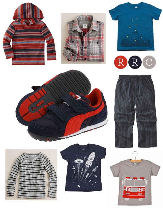 From the Snow & Graham Blog. Super cute boy clothes!
