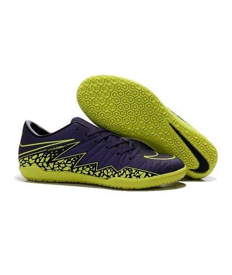 Nike Hypervenom Phelon II IC SÁLOVÁ Muži Kopačky Modrý Žlutý