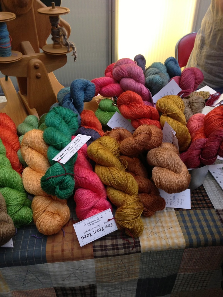 Gorgeous Yarn at The Edinburgh Yarn Festival