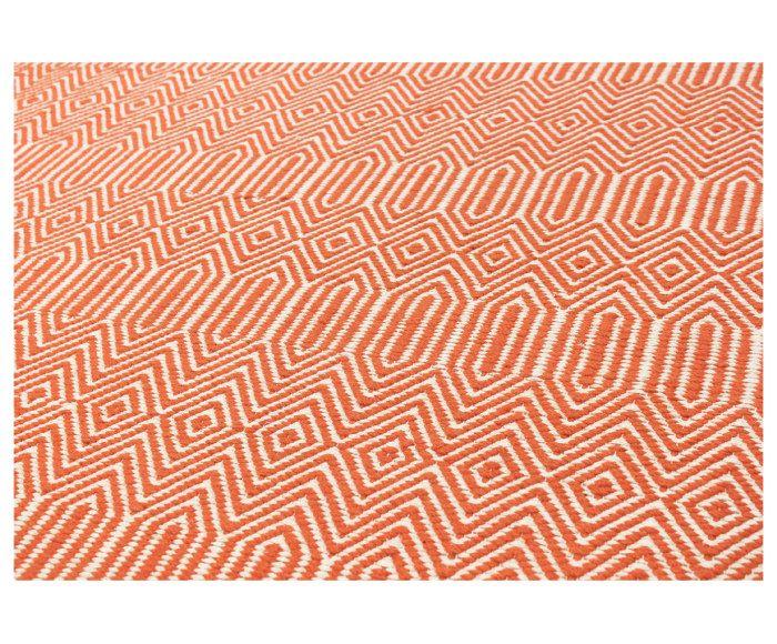 Kelim vloerkleed Sidi Kacem, oranje, 160 x 230 cm