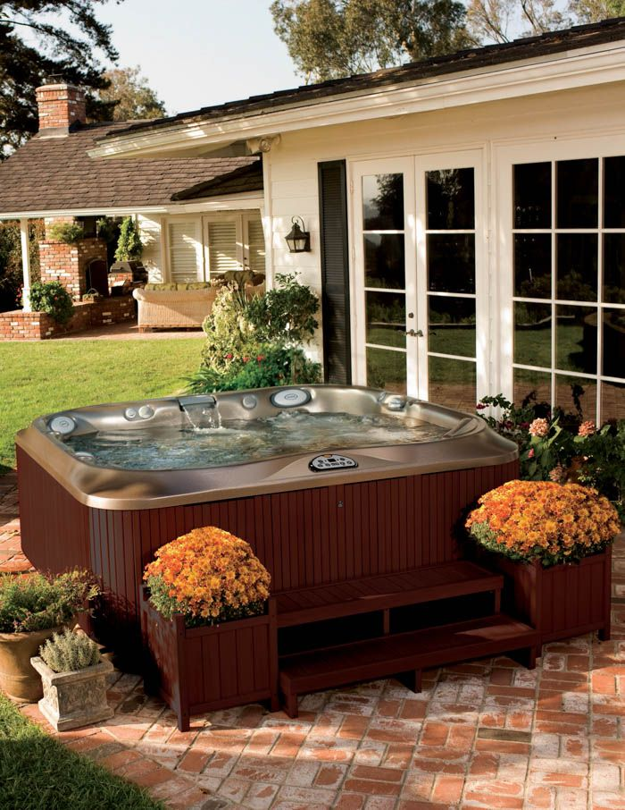 J-300 Series. Available at Eden Spas Jacuzzi. Has one of the best hot tubs collection in Prince George, BC.