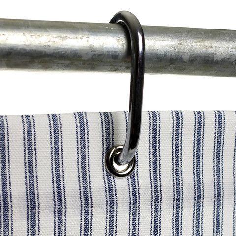 Ticking Shower Curtain