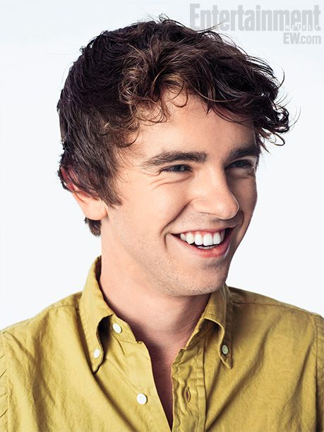 This boy deserves an award for best actor if the year for playing Norman Bates on Bates Motel. He is an AMAZING actor