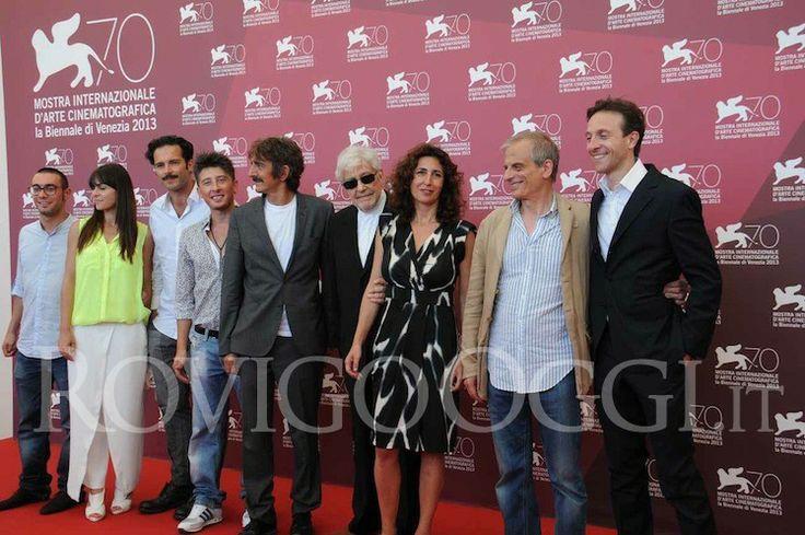 il Cast al Festival di Venezia