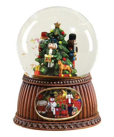 Loving this Musical Nutcracker Glitter Globe on #zulily! #zulilyfinds
