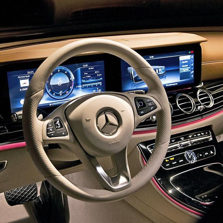 Interior. All-new E class 2016/17