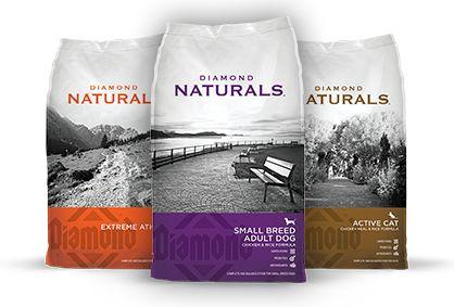 Diamond Naturals - Small Adult Breed. Buddy & Eliza's dog food. Lamb & Rice.