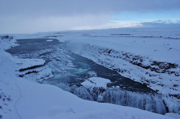 Iceland Golden Circle by Tour Bus Stop 3 Gullfoss JetSetting Fools