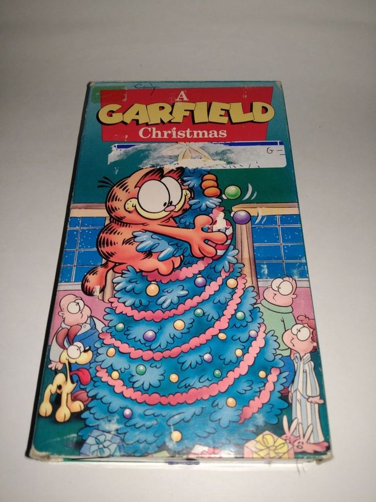 Garfield Christmas Special (VHS, 1991) Vintage Childrens Cartoon VCR Tape