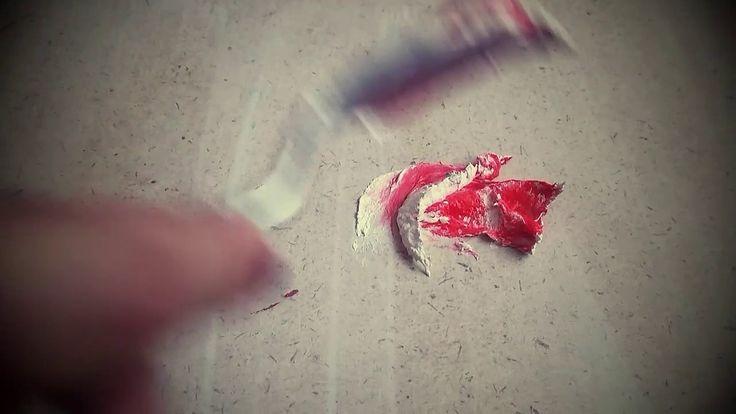 Объемная живопись Розы
