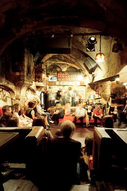 Swing dance with a stranger at Caveau de la Huchette jazz club. Paris, France. Another one to add to the list.