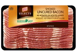 Selects Smoked Uncured Bacon: Smoked Bacon Perfect for Breakfast, Lunch or Dinner - Oscar Mayer