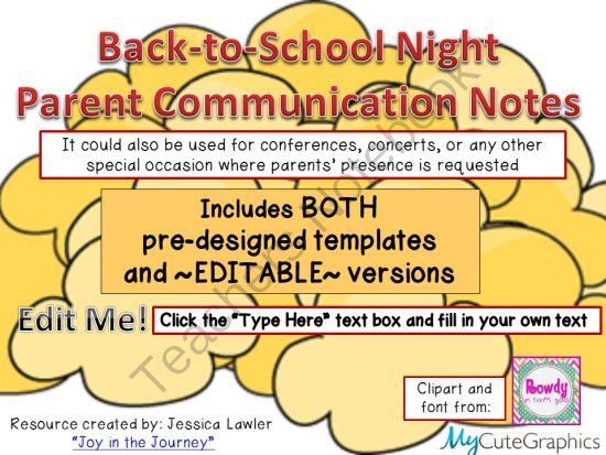 school text box clipart. free backtoschool parent communication notes popcornthemed both school text box clipart f