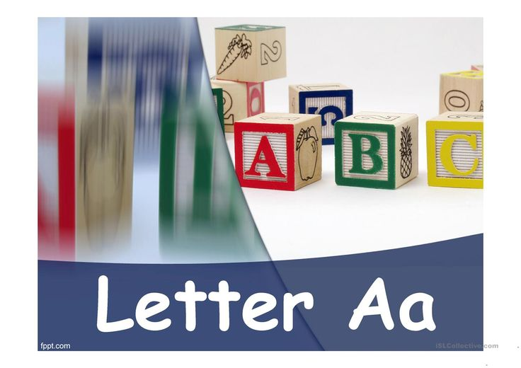 Letter A Words