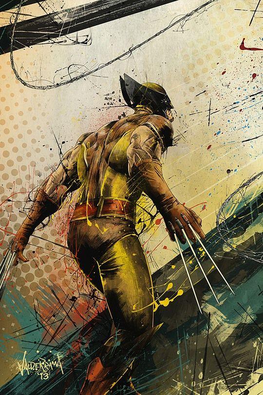 Ilustrações exclusivas de The Wolverine  #wolverine #xmen #illustration #art #comic