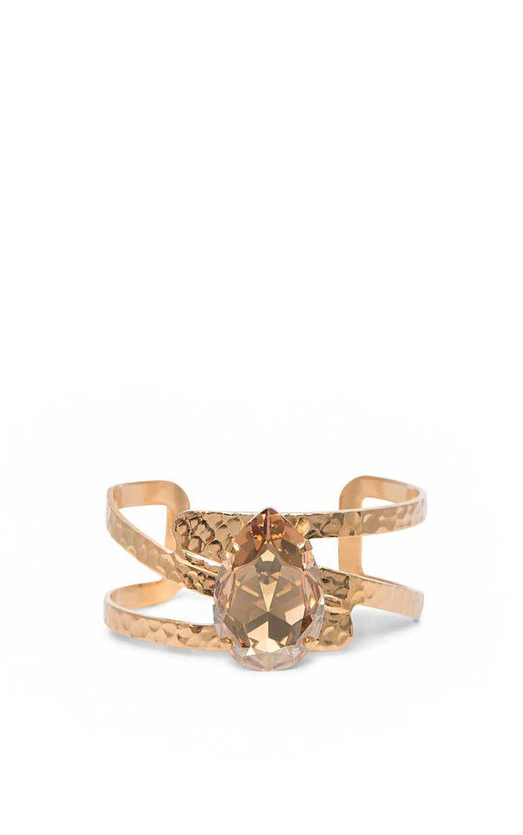 Armband Perfect Drop Bangle GOLDEN SHADOW - Caroline Svedbom - Designers - Raglady