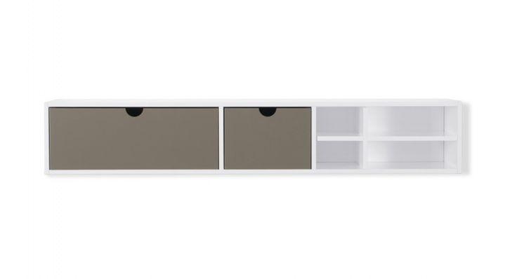 Kast set Flip IX laag diep 23cm / breed 118cm / hoog 20,6cm € 239,00
